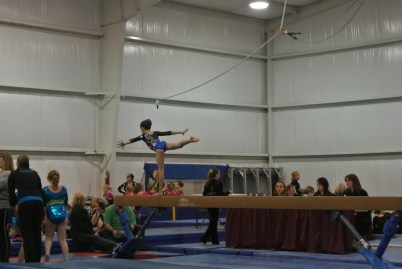 Ice Breaker Invitational 2012 Beam Arabesque - Level 5