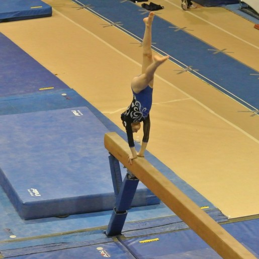 Pot of Gold Invitational 2012 Beam Handstand - Level 5