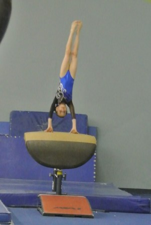 Queen of Hearts Invitational 2012 Vault Handstand - Level 5