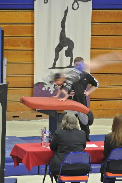 Idaho State Championships Vault Handstand - Level 5