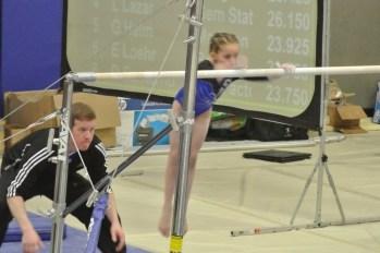 Idaho State Championships Bars Mount - Level 5