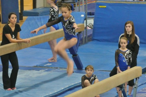 Judges' Cup 2012 Beam Leap - Level 6