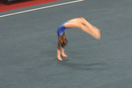 Judges' Cup 2012 Floor Back Handspring - Level 6
