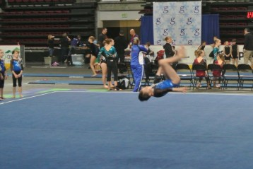 Gem State Invitational 2013 Floor Front Tuck - Level 6