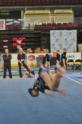Gem State Invitational 2013 Floor Back Tuck - Level 6