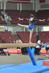 Queen of Hearts Invitational 2013 Beam Balance Move - Level 6
