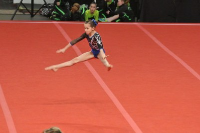 Queen of Hearts Invitational 2013 Floor Leap - Level 6