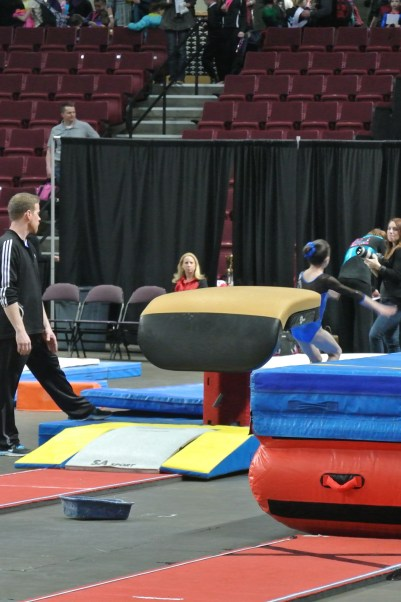 Queen of Hearts Invitational 2013 Vault Landing - Level 6