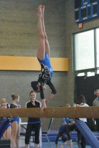 Vegas Cup 2013 Beam Handstand - Level 6