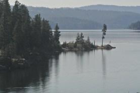 Lake Coeur d Alene on Sunday