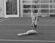 Intrasquad Meet 2013 Floor - Level 7 - Starting pose on the floor