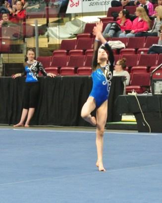 Idaho State Championships 2014 Floor Dance Move - Level 7
