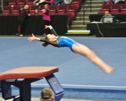 Idaho State Championships 2014 Vault Flight - Level 7