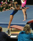 Idaho State Championships 2014 Vault 2 Approach - Level 7