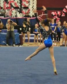 Flips Invitational 2015 Floor Final Dance Move - Level 7
