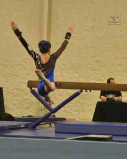 Queen of Hearts Invitational 2015 Floor Leap - Level 7