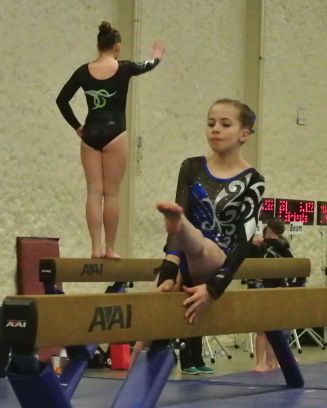 Queen of Hearts Invitational 2015 Beam Mount - Level 7
