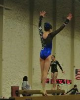 Queen of Hearts Invitational 2015 Beam Balance Move - Level 7