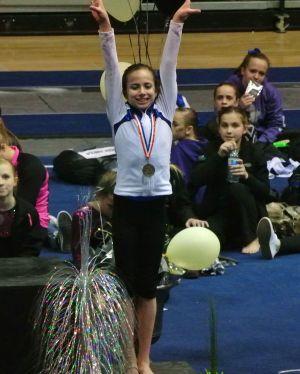 Idaho State Championships 2015 Vault Awards - Third - Level 7