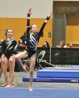 Charity Choice Invitational 2016 Floor Dance Move - Level 8