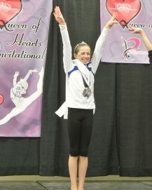 Queen of Hearts Invitational Dancing Queen - Highest Score on Floor for All Ages - Level 8