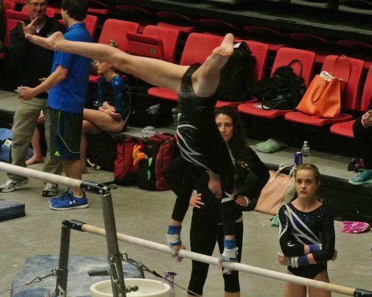 Region 2 Championships 2016 Bars Cast - Level 8