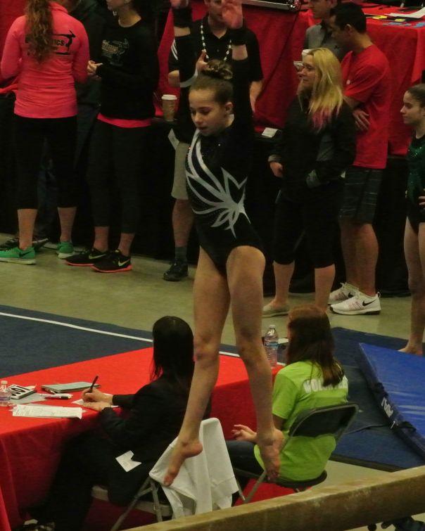 Region 2 Championships 2016 Beam Beat Jump - Level 8