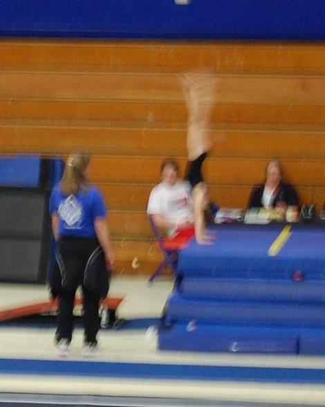 BSU Open 2011 Vault Handstand - Level 4