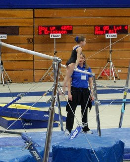 BSU Open 2011 Bars Approach - Level 4