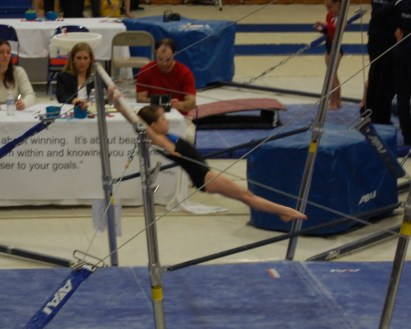Idaho State Championships 2011 Bars Mount - Level 4
