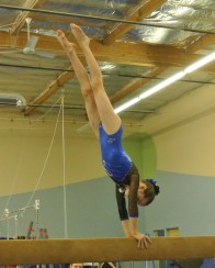 Teddy Bear Classic 2011 Beam Handstand - Level 5