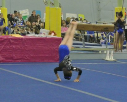 Teddy Bear Classic 2011 Floor Forward Dive Roll - Level 5