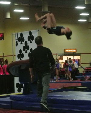 Lady Luck Invitational 2017 Vault Back Tuck - Level 8