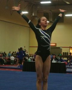 Lady Luck Invitational 2017 Floor One and a Half Twist - Level 8