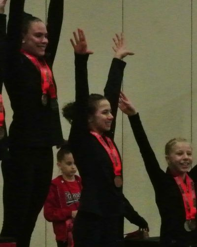 Lady Luck Invitational 2017 Bars Awards - Fifth - Level 8