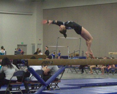 MMWO 2017 Beam Back Handspring into Dismount - Level 8