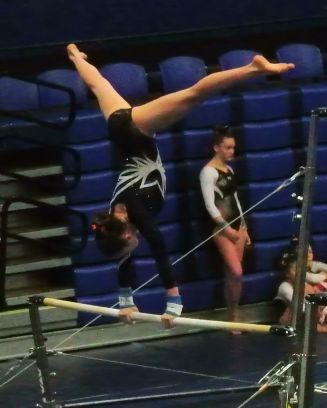 BSU Open 2017 Bars Cast to Pirouette - Level 8