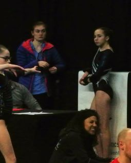 Region 2 Championships 2017 - Waiting for Timed Warm-Up - Level 8