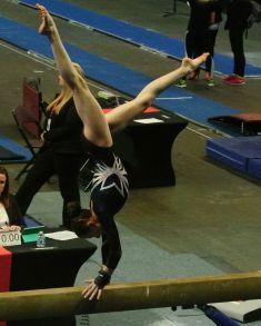 Region 2 Championships 2017 - Beam Hand Change During Cartwheel - Level 8