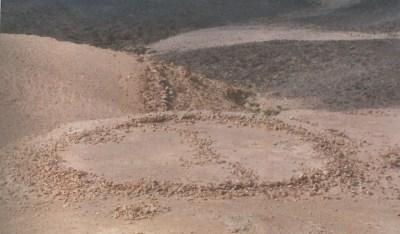 Túmulo de anillo en Wadi Mujib, Jordania. <i>Megalithic Jordan</i>