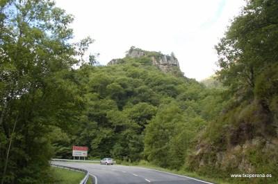 Fortificación natural en Gastixarre