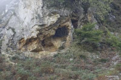 Evidencias de ruina montium en Lezetako kasoa, Urepel