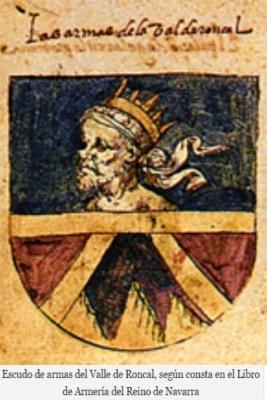 Escudo de Roncal, Archivo General de Navarra
