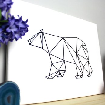 Geometric Animal String Art- HGTV Handmade