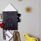 Chalkboard Organizer- HGTV Handmade