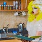 Lady Gaga Telephone Halloween Costume- Savers Thriftstore
