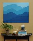 Mountain Mural on The Martha Stewart Show