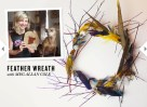 Feather Wreath- Rue Magazine
