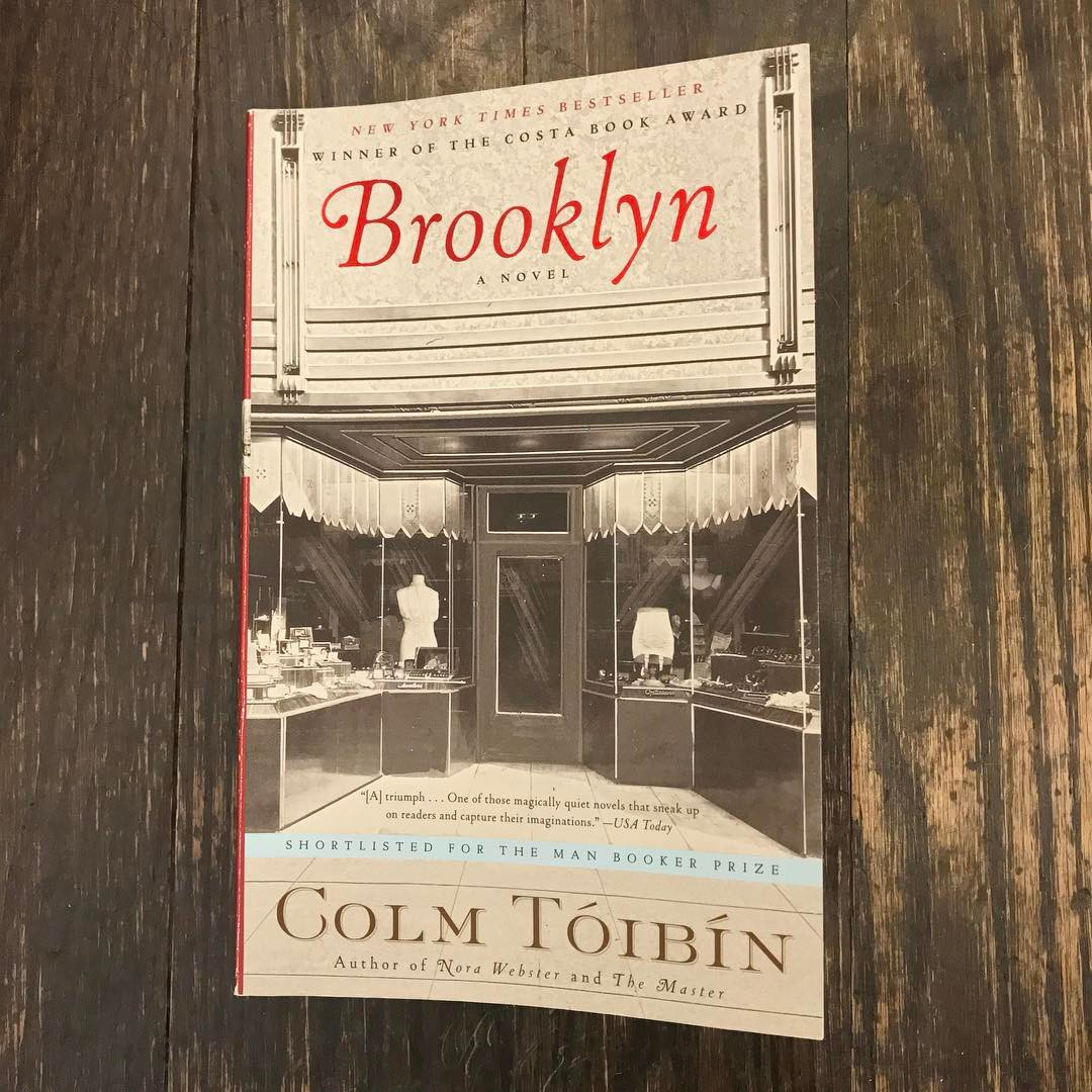 Currently reading Brooklyn by Colm Toibin in the exact neighborhood where it takes place. 📚