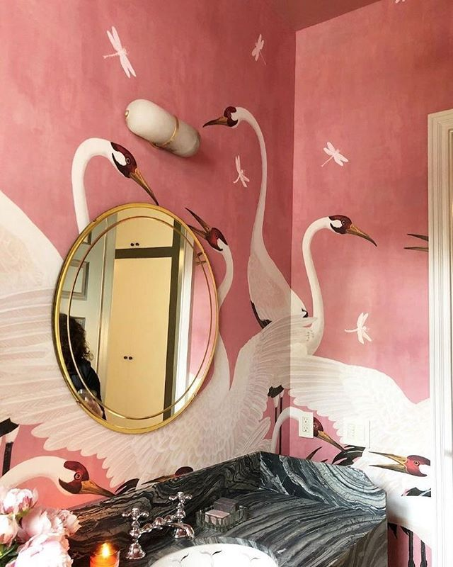 Dreamy Design || Gucci's new line of wallpaper via @dominomag 🦢